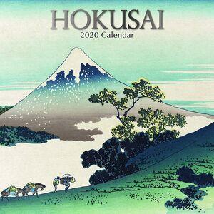 2020 CALENDARIO DE PARED HOKUSAI