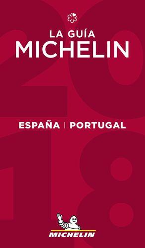 LA GUÍA MICHELIN ESPAÑA & PORTUGAL 2018