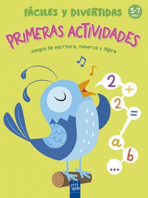 PRIMERAS ACTIVIDADES FÁCILES Y DIVERTIDAS