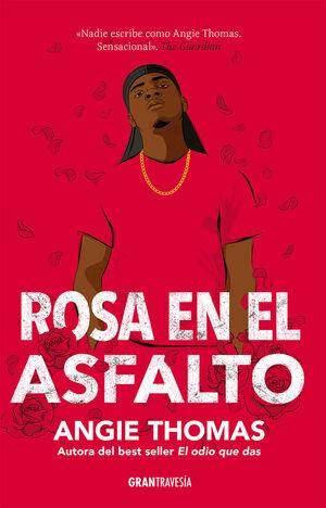 ROSA EN EL ASFALTO