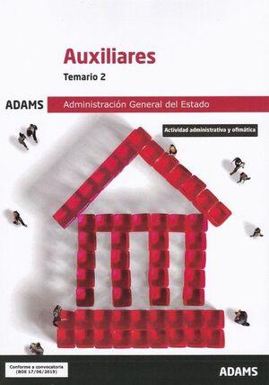 TEMARIO 2 AUXILIARES ADMINISTRACIÓN GENERAL DEL ESTADO