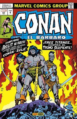 CONAN EL BÁRBARO: LA ETAPA MARVEL ORIGINAL 04