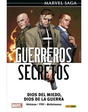 GUERREROS SECRETOS 02: DIOS DEL MIEDO, DIOS DE LA GUERRA