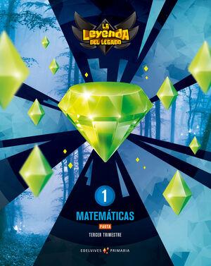 PROYECTO: LA LEYENDA DEL LEGADO. MATEMÁTICAS 1. PAUTA. TRIMESTRES