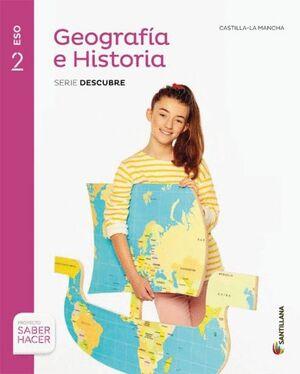 GEOGRAFIA E HISTORIA 2ESO C-LA MANCHA + CUADERNO SANTILLANA EDUCACIÓN