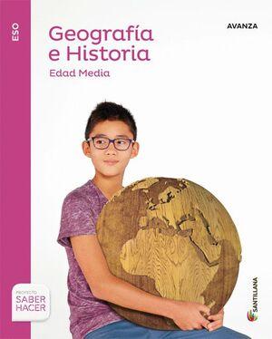 GEOGRAFIA E HISTORIA AVANZA 2 ESO SABER HACER