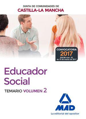 EDUCADORES SOCIALES DE LA JUNTA DE COMUNIDADES DE CASTILLA-LA MANCHA. TEMARIO ES