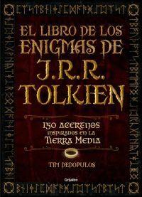 EL LIBRO DE LOS ENIGMAS DE J.R.R. TOLKIEN