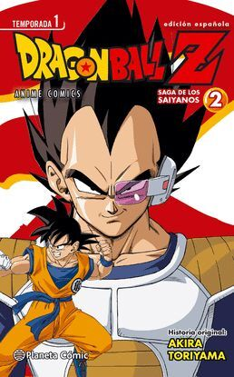 DRAGON BALL Z ANIME SERIES SAIYANOS Nº 02/05