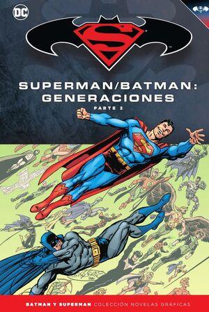 BATMAN Y SUPERMAN - COLECCIÓN NOVELAS GRÁFICAS NÚM. 54: BATMAN/SUPERMAN: GENERAC