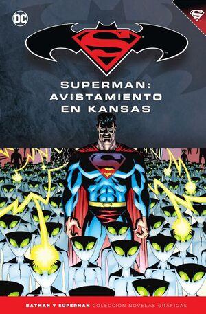 BATMAN Y SUPERMAN - COLECCIÓN NOVELAS GRÁFICAS NÚM. 57: SUPERMAN: AVISTAMIENTO E