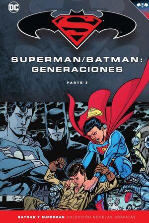 BATMAN Y SUPERMAN - COLECCIÓN NOVELAS GRÁFICAS NÚM. 58: BATMAN/SUPERMAN: GENERAC