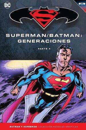 BATMAN Y SUPERMAN - COLECCIÓN NOVELAS GRÁFICAS NÚM. 60: BATMAN/SUPERMAN: GENERAC