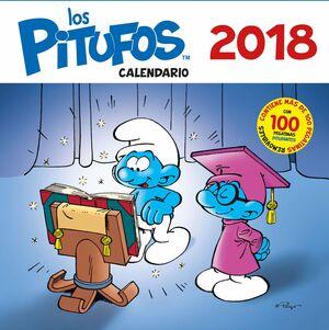 CALENDARIO LOS PITUFOS 2018