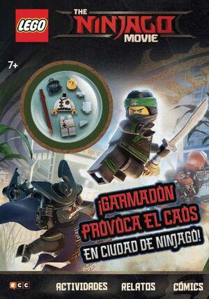 THE LEGO NINJAGO MOVIE. ¡GARMADON PROVOCA EL CAOS EN CIUDAD DE NINJAGO!