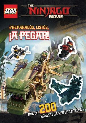 THE LEGO NINJAGO MOVIE. PREPARADOS, LISTOS, ¡A PEGAR!