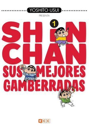 SHIN-CHAN: SUS MEJORES GAMBERRADAS NÚM. 01 (DE 6)