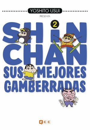 SHIN-CHAN: SUS MEJORES GAMBERRADAS NÚM. 02 (DE 6)