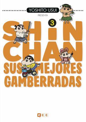 SHIN-CHAN: SUS MEJORES GAMBERRADAS NÚM. 03 (DE 6)