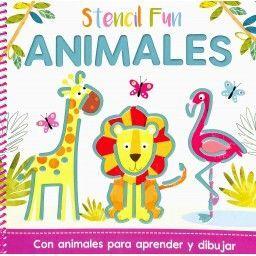 STENCIL FUN ANIMALES. STENCIL FUN. EDIC ILUSTRADO (ESPAÑOL)