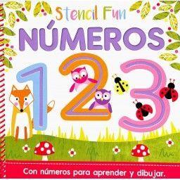 STENCIL FUN NÚMEROS. STENCIL FUN. EDIC ILUSTRADO (ESPAÑOL)