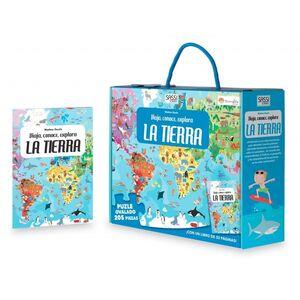 LA TIERRA. VIAJA, CONOCE, EXPLORA. CON PUZZLE. EDIC. ILUSTRADO (ESPAÑOL)