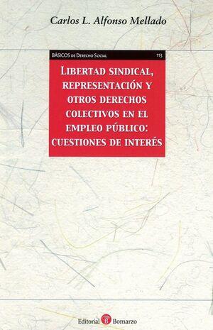 LIBERTAD SINDICAL, REPRESENTACIÓN Y OTROS DERECHOS COLECTIVOS EN EL EMPLEO PÚBLI