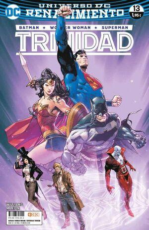 BATMAN/SUPERMAN/WONDER WOMAN: TRINIDAD NÚM. 13 (RENACIMIENTO)