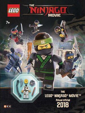 THE LEGO NINJAGO MOVIE. ANUAL OFICIAL 2018