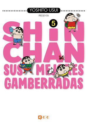 SHIN-CHAN: SUS MEJORES GAMBERRADAS NÚM. 05 (DE 6)