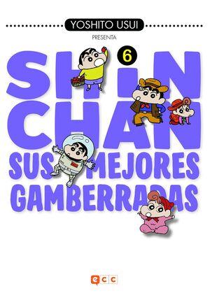 SHIN-CHAN: SUS MEJORES GAMBERRADAS NÚM. 06 (DE 6)