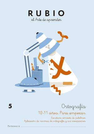 ORTOGRAFÍA 5 (10-11 AÑOS. PARA EMPEZAR)