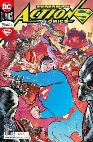SUPERMAN: ACTION COMICS NÚM. 09 (RENACIMIENTO)