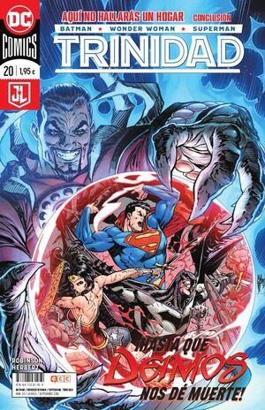 BATMAN/SUPERMAN/WONDER WOMAN: TRINIDAD NÚM. 20 (RENACIMIENTO)