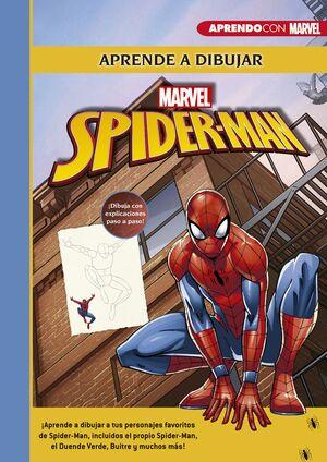 APRENDE A DIBUJAR A SPIDER-MAN (CREA, JUEGA Y APRENDE CON MARVEL)