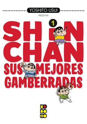 SHIN-CHAN: SUS MEJORES GAMBERRADAS NÚM. 01 (2A EDICIÓN)