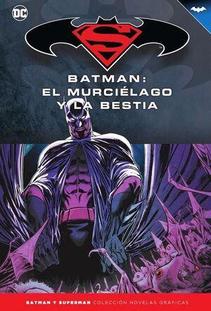 BATMAN Y SUPERMAN - COLECCIÓN NOVELAS GRÁFICAS NÚM. 71: BATMAN: EL MURCIÉLAGO Y