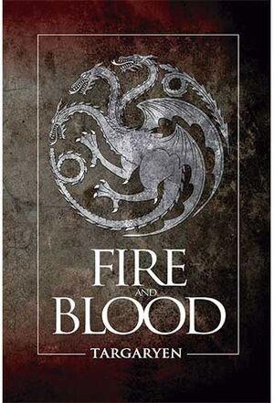 BLOC DE NOTAS GAME OF THRONES - FIRE AND BLOOD
