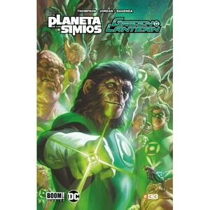 GREEN LANTERN/EL PLANETA DE LOS SIMIOS