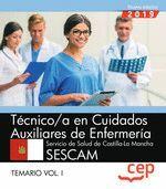 TÉCNICO/A EN CUIDADOS AUXILIARES DE ENFERMERÍA. SERVICIO DE SALUD DE CASTILLA-LA