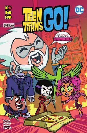 TEEN TITANS GO! NÚM. 34