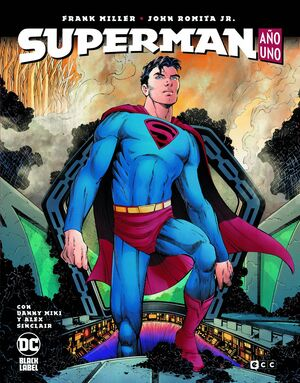 SUPERMAN: AÑO UNO (EDICIÓN BLACK LABEL)