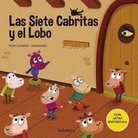 LAS SIETE CABRITAS Y EL LOBO