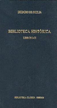 BIBLIOTECA HISTORICA LIBROS I-III