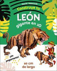 CONSTRUYE TU LEON GIGANTE EN 3D