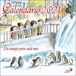 CALENDARIO DE PARED UN CONSEJO PARA CADA MES 2021
