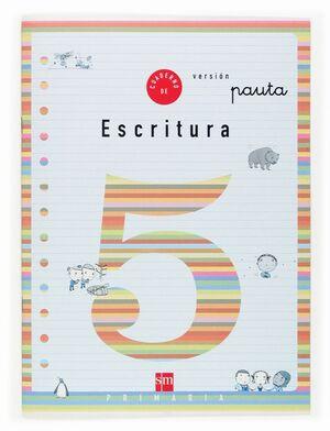 CUADERNO 5 DE ESCRITURA, PAUTA. 2 PRIMARIA
