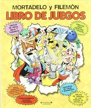 MORTADELO Y FILEMÓN. LIBRO DE JUEGOS