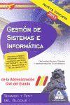 CUERPO DE GESTIÓN DE SISTEMAS E INFORMÁTICA, ADMINISTRACIÓN DEL ESTADO, ORGANIZA