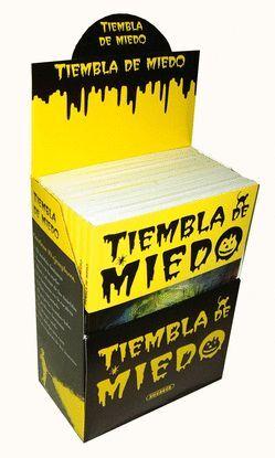ESTUCHE TIEMBLA DE MIEDO (10 TÍTULOS)